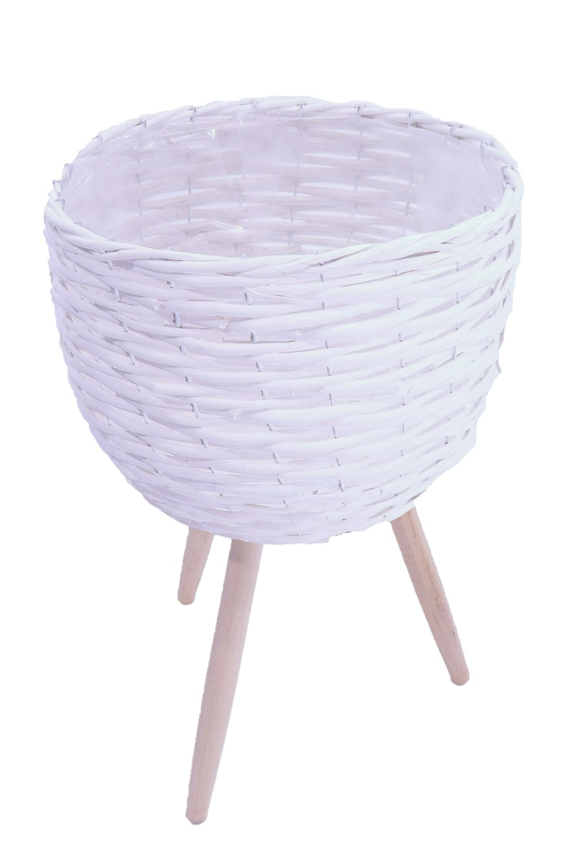 Cesta porta vaso - Willow Basket Legs